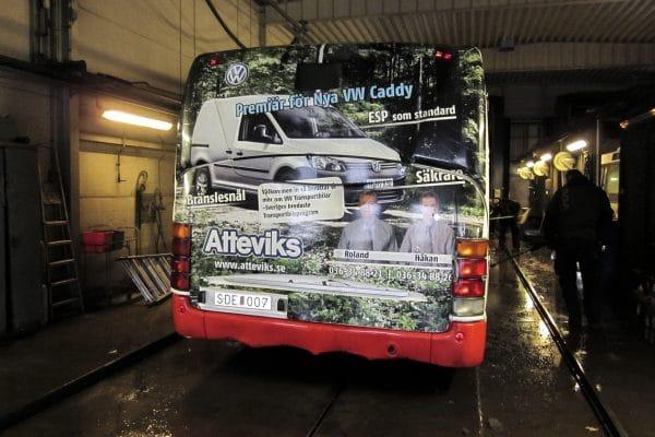 Buss dekor